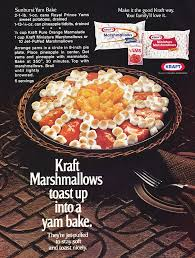 thanksgiving yams with marshmallows potatoes and yams hey my mom used to make that