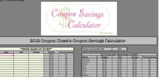 Free Printable Spreadsheet 2 Free Coupon Savings Tracker Spreadsheets Saving