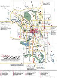 Calgary Canada Map by Calgary Map Calgary U2022 Mappery