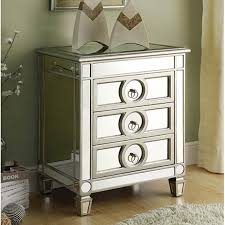 Mirrored Side Table Mirrored Side Table Round With Mirrored Side Table Overstock