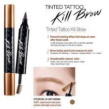 clio tattoo eyebrow pen clio tinted tattoo kill brow shininghome malaysia online beauty