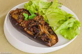 comment cuisiner des aubergines facilement poivron farcis à l aubergine tomate et fêta kilometre 0 fr