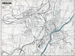 city map german city and regional maps city map orsha april 1944