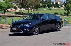 blue lexus es 350 2016 lexus es 350 sports luxury review performancedrive