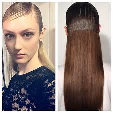 black hair show 2015 milan fashion week my helmut newton esque hair for angelo marani