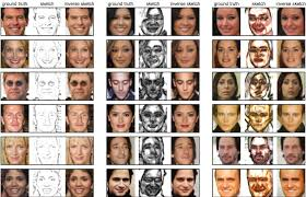 neural networks used by researchers to turn face sketches into