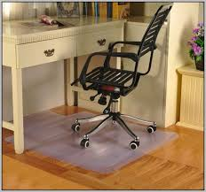 flooring ideas wood office floor mats under dark brown wheeled
