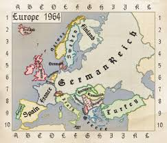 Europe Map Ww2 by A Hypothetical Map Of Europe In 1964 In Case Germany Had Won