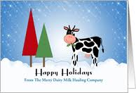 cow greeting cards cow christmas card christmas decore
