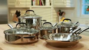 Calphalon Simply Calphalon Stainless Steel Cookware Youtube