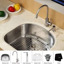 Kitchen Sink Set by Undermount Single Bowl Kitchen Sink Design Information About