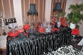 Black And White Candy Buffet Ideas by Black And Red Candy Buffet Chs Class Of U002792 Reunion Pinterest