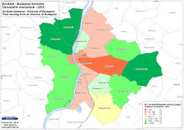 Map Of Budapest Analysis Of Differences Of Districts Of Budapest Geoindex