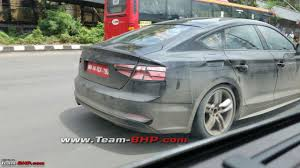 2017 audi a5 sportback spied testing ahead of global debut
