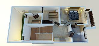 design interior rumah kontrakan denah dan desain rumah kontrakan kost dijual kost exclusive 10kt