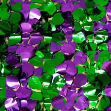 mardi gras paper floral sheeting petal paper metallic mardi gras 5 yards