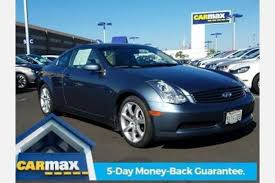 2006 Infiniti G35 Coupe Interior Used 2006 Infiniti G35 Coupe Pricing For Sale Edmunds
