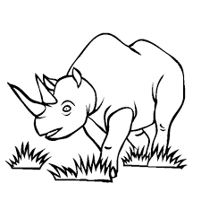 j coloring pages free printable rhinoceros coloring pages for kids