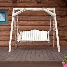 woodcountry basic porch swing stand u0026 reviews wayfair