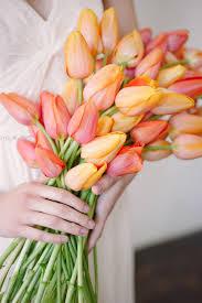 tulip bouquets 20 single bloom bouquets we tulip bouquet orange crush and