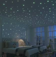 glow in the dark wall paint gallon star stickers target room ideas