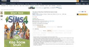 the sims 4 kids room stuff now available on amazon simsvip