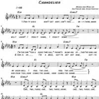 Chandelier Sia Piano Sheet Music Trapdoor Chords Piano U0026 Sheet Music Made By Dawid Wøjcieski For