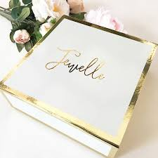 personalized boxes gift box