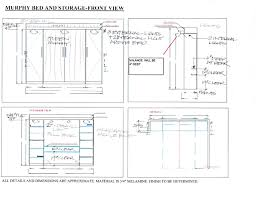 Free Plans For Loft Beds With Desk by Murphy Bed Plans Pdf To See These Files P Just Added The