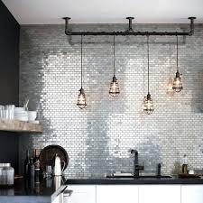 Industrial Pendant Lighting For Kitchen Drop Lighting Kitchens White Kitchen Island Industrial