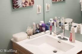 Bathroom Counter Ideas Smothery Bathroom Counter Organizers Bathroom Counter Storage