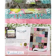 weekend kits quilt kits simple quilting patterns for beginners