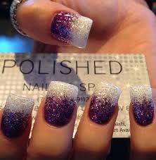 latest glitter nail designs pretty designs