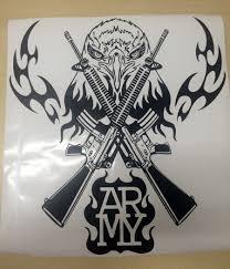 aliexpress com buy army emblems wall vinyl sticker military