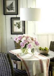 dining room decoration in the comfortable cottage style