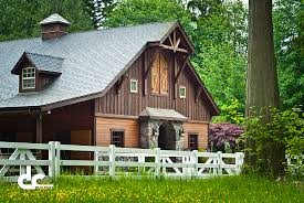 Pole Barn With Apartment Horse Barn Home Designs Horse Barns With Living Quarters Dc