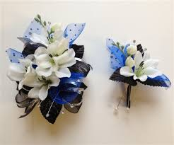 corsage and boutonniere set silk corsage and boutonniere bouquet themes