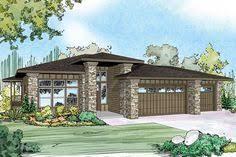 prairie style house plans modern prairie style home plans plan w6966am modern prairie
