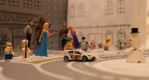 lego ford focus snowkhana is ford u0027s gymkhana drifting with lego and toy story