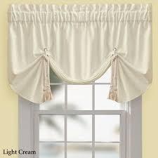 regalia sail tie up window valance by croscill