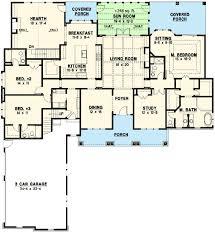 Corner House Floor Plans Plan 18564wb Expansive Ranch Home Plan Craftsman Exterior