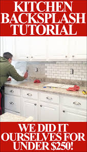 Kitchen Backsplash How To Install by How To Install A Kitchen Backsplash The Best And Easiest