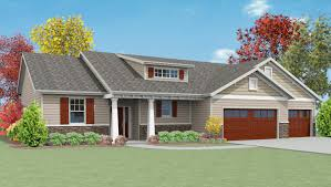 Craftsman Style Ranch Homes Detail Granite Ridge Builders