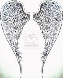 big angel wings tattoos for men photos pictures and sketches