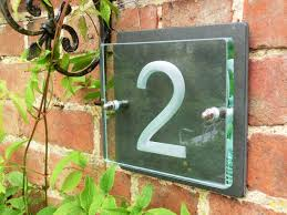 house number plaques house name plaques