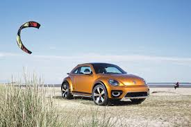 volkswagen beach vw beetle dune concept takes to beach to show its production