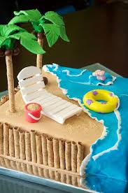 Cake Decorations Beach Theme - 28 beach cake decorations beach cake beach theme wedding