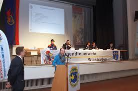 Delegiertenversammlung Und Bundeswettbewerb Der Deutschen Allgemein Jugendfeuerwehr Wiesbaden
