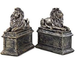 lion bookends new york library lion bookends vintage finished mflibra