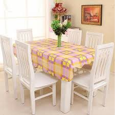 farmhouse style table cloth farmhouse style pvc tablecloth waterproof and oil free disposable